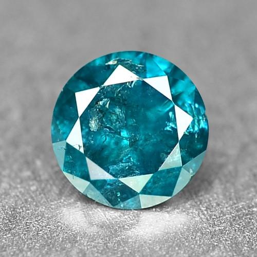 0.09 Cts Sparkling Rare Fancy Intense Blue Color Natural Loose Diamond
