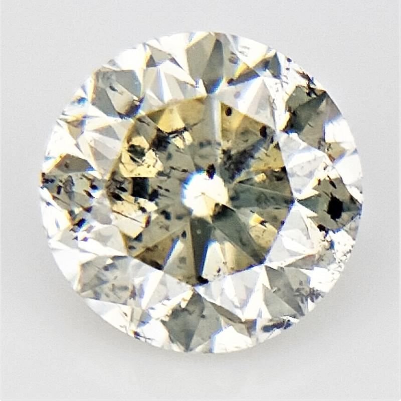 0.11 CTS , SALT AND PEPPER DIAMOND  , Small salt and pepper diamond , WR131