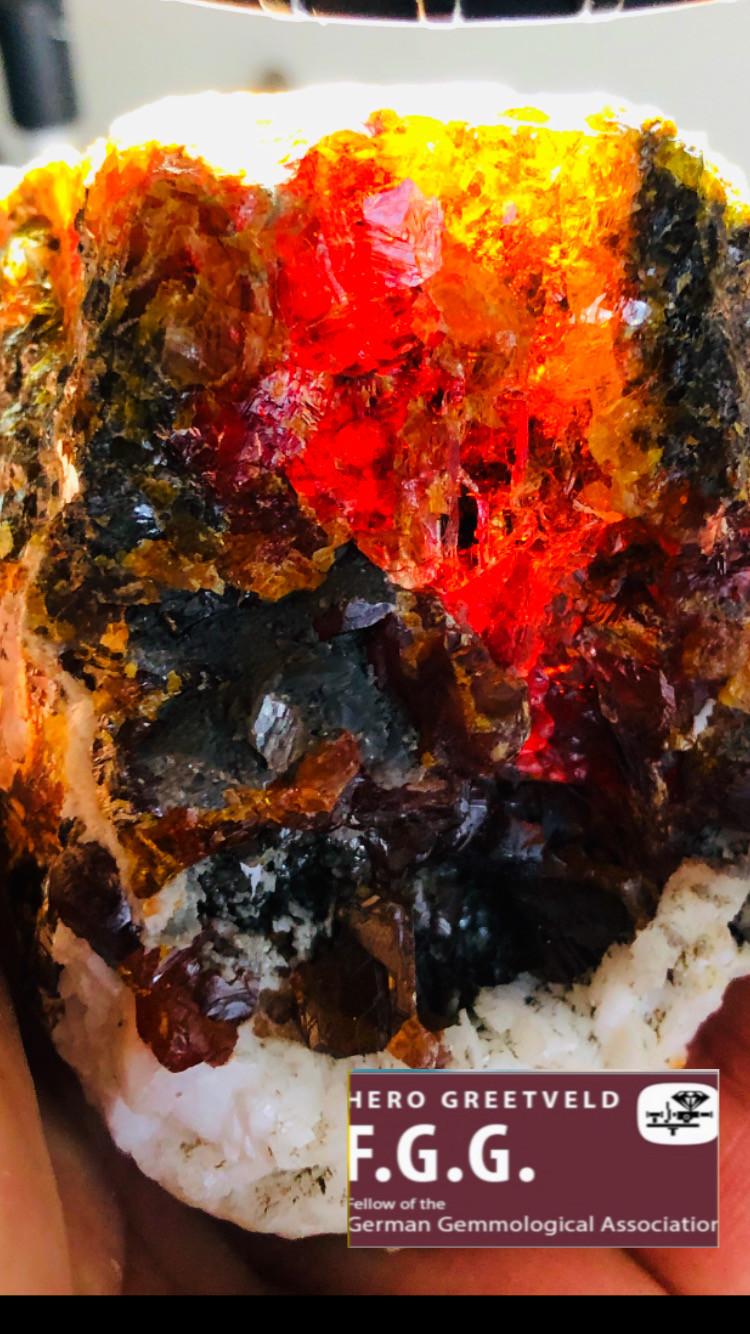 2740 CT BIG SPHALERITE - All colors of the world ! SUPER MASTER