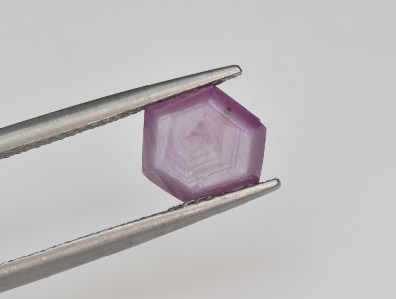 Natural Ruby 2.56 Cts with Hexagonal Pattern from Guinea