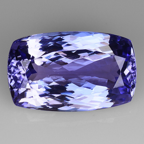 4.60 Cts Tanzanite Faceted Gemstone Gorgeous Cut ~ TN53