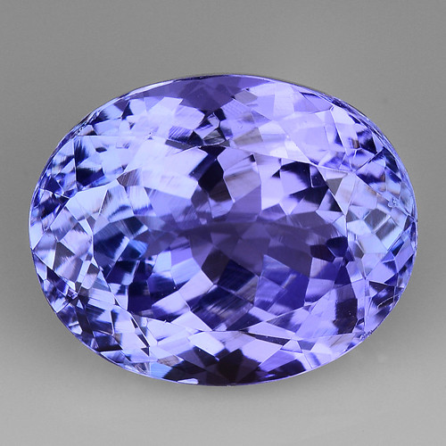 4.96 Cts Tanzanite Faceted Gemstone Gorgeous Cut ~ TN55