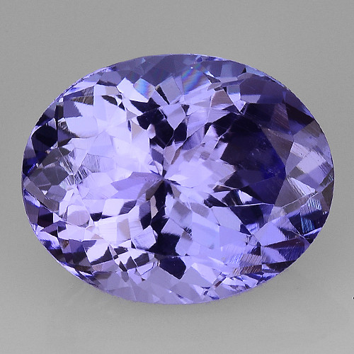 3.19 Cts Tanzanite Faceted Gemstone Gorgeous Cut ~ TN58