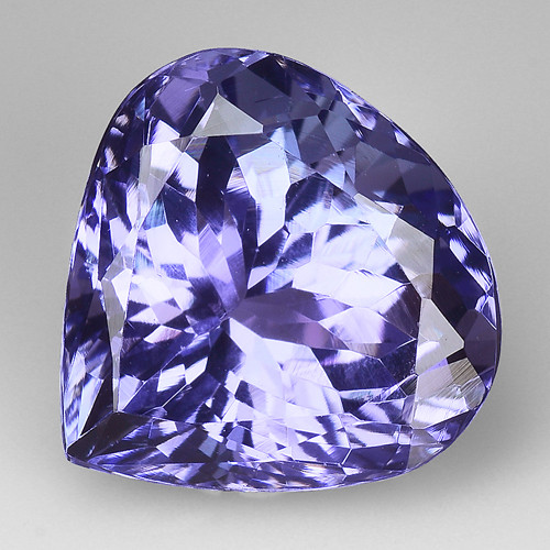 4.02 Cts Tanzanite Faceted Gemstone Gorgeous Cut ~ TN61