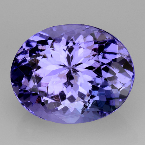 3.72 Cts Tanzanite Faceted Gemstone Gorgeous Cut ~ TN65