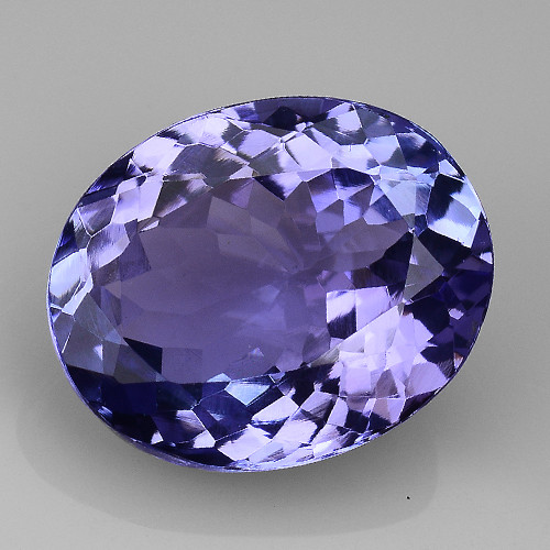 3.82 Cts Tanzanite Faceted Gemstone Gorgeous Cut ~ TN68