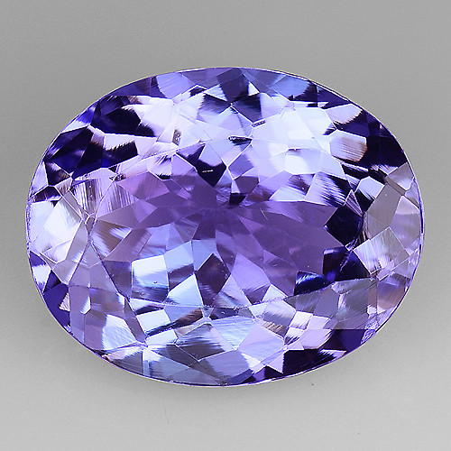 3.08 Cts Tanzanite Faceted Gemstone Gorgeous Cut ~ TN70