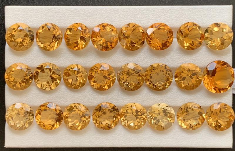 111.40 Carats Citrine  Gemstones Parcel