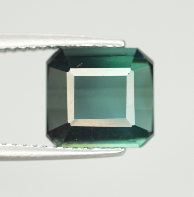 3.65 Carat Natural Green Blue Tourmaline Gemstone