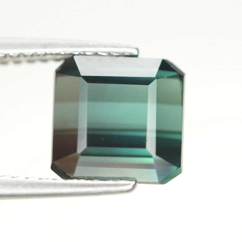 3.30 Carat Natural Green Blue Tourmaline Gemstone