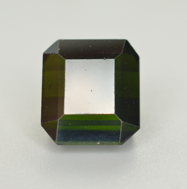 6.70 Carat Natural Green Blue Tourmaline Gemstone