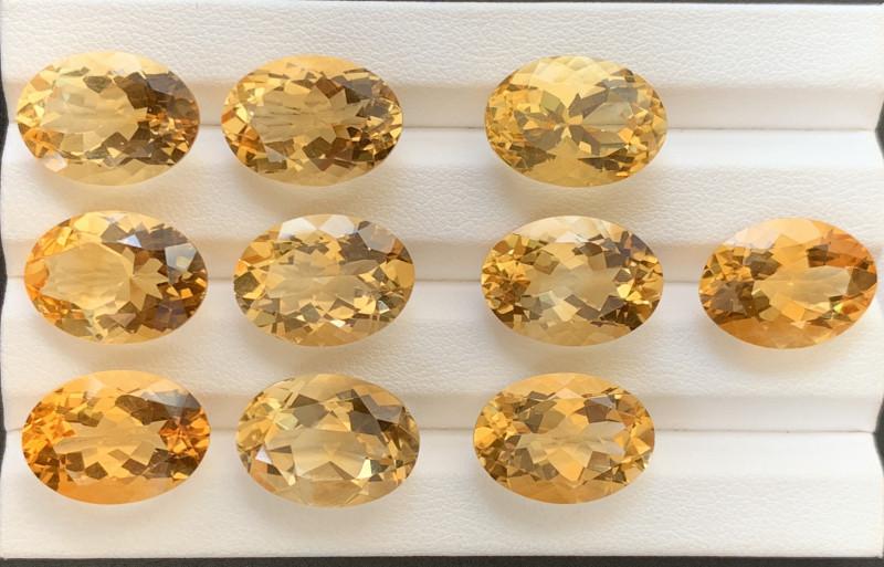 112 Carats Citrine  Gemstones Parcels