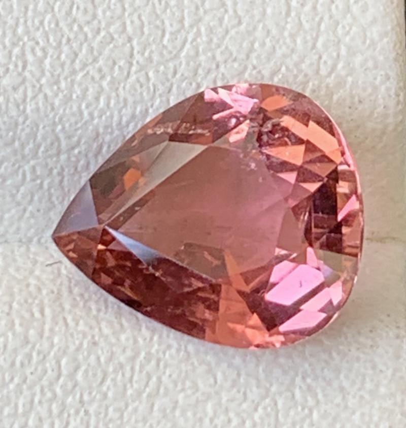 3.80 Carats Natural Color Tourmaline Gemstone