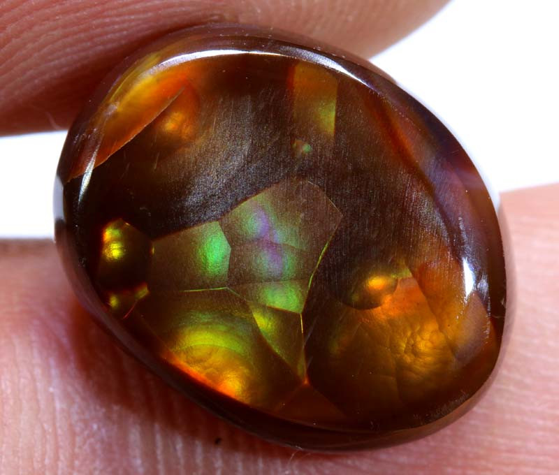 Mexican Fire Agate Stone Polished cts D-87