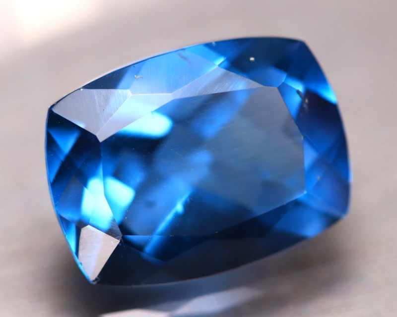 Fluorite 12.11Ct Natural Vivid Bule Color Change Fluorite D3013/A49