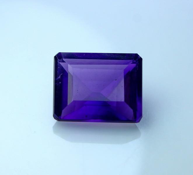 4.55 CT Unheated ~ Natural Purple Amethyst Gemstone