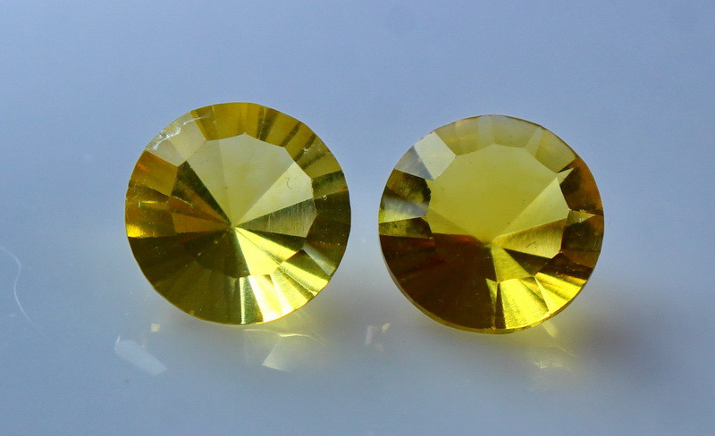 4.00 Cts Natural & Unheated Yellow Fluorite Gemstone Pair