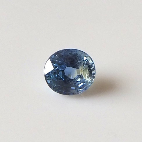 1.33ct unheated greenish blue sapphire