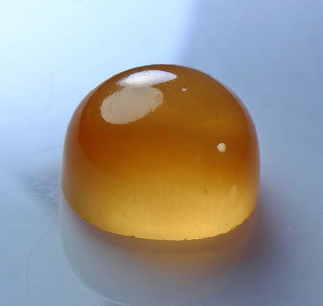 19.25 CT Natural & Unheated Orange Calcite Cabochon