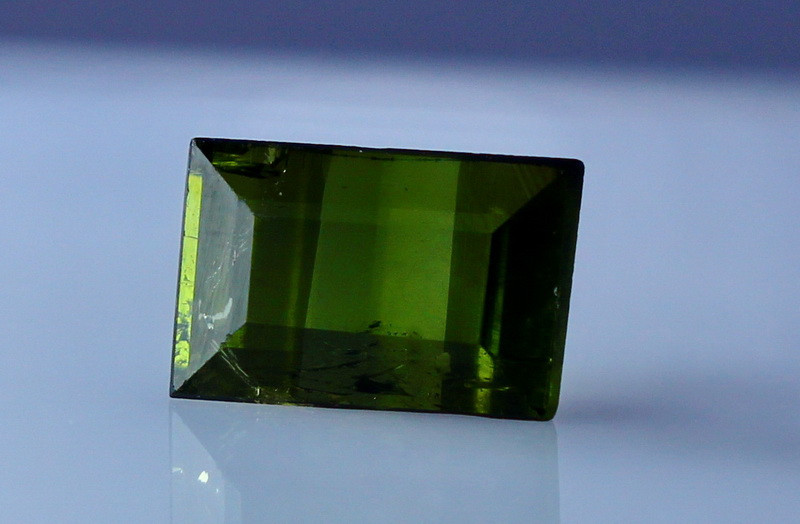 1.30 CT Natural - Unheated Green Tourmaline Gemstone