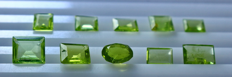 8.45 CT Natural - Unheated Green Peridot Gemstone