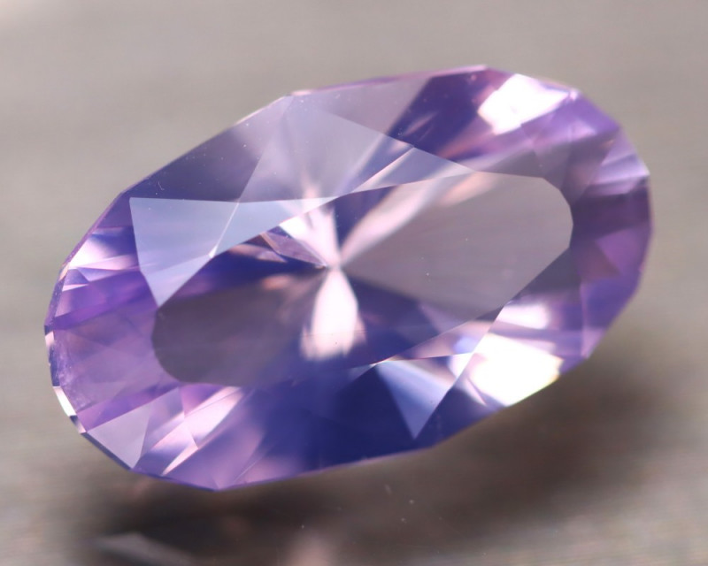 Lavender 7.23Ct Natural Master Cutting Lavender Amethyst D0206/A2