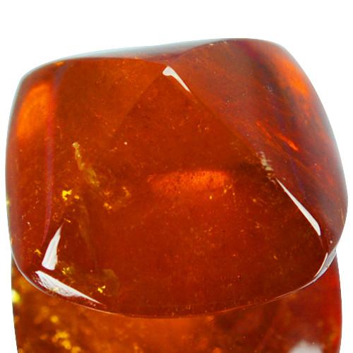 14.58Cts Natural Spessartite Garnet Sugarloaf Fanta Orange Namibia