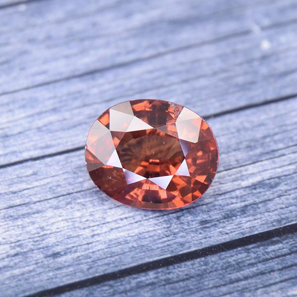 Hessonite Garnet (Gomeda) 3.44 Ct. Natural Untreated (00654)