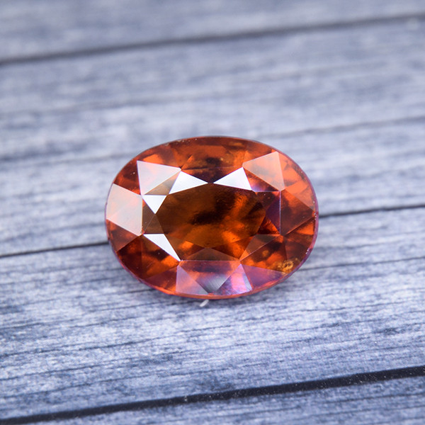 Hessonite Garnet (Gomeda) 5.00 Ct. Natural Untreated (00797)