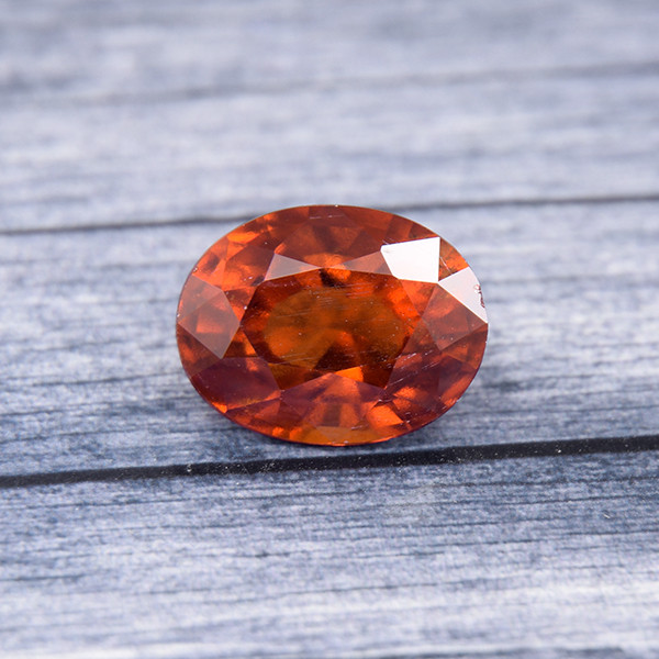 Hessonite Garnet (Gomeda) 3.67 Ct. Natural Untreated (00886)