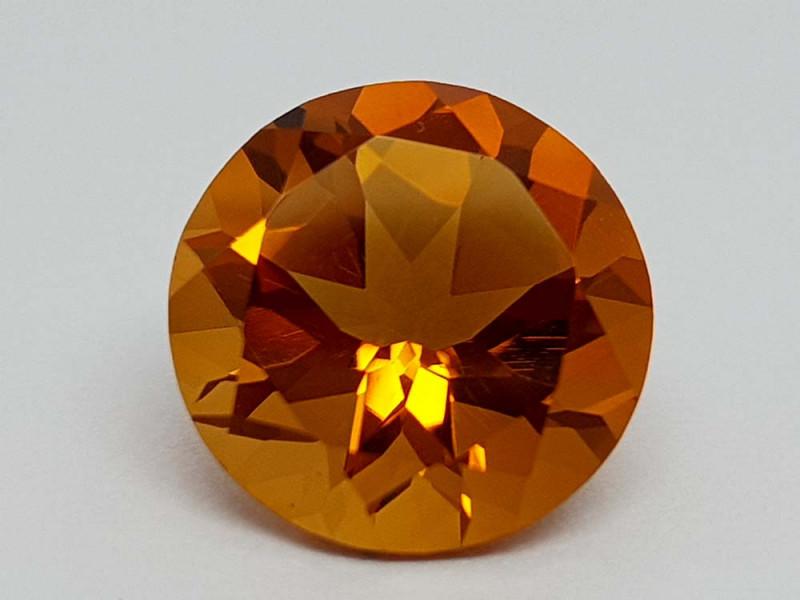 5.95Crt Madeira Citrine Natural Gemstones JI23