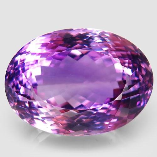 35.11  ct. Natural Top Nice Purple Amethyst Unheated Brazil - IGE Сertified