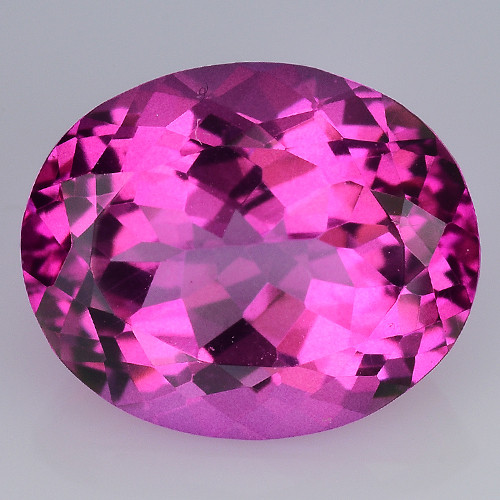 5.59 CT RARE PINK TOPAZ TOP CLASS CUT CLARITY GEMSTONE PT8