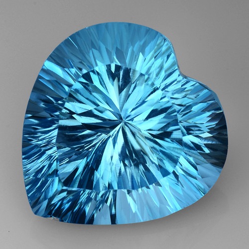15.62 CT BLUE TOPAZ AWESOME COLOR AND CUT GEMSTONE TP23