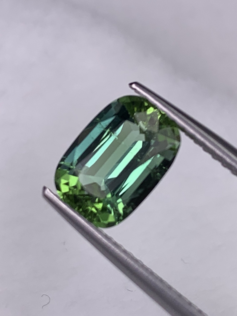 2.19 Cts Afghan Tourmaline Lagoon Green Color Amazing Luster