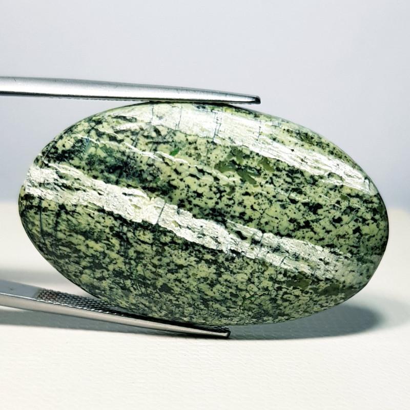 42.95 ct Natural Green Suzi Opal Oval Cabochon  Gemstone