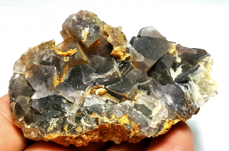 Amazing Natural color Damage free Lovely Fluorite specimen 308Cts-P