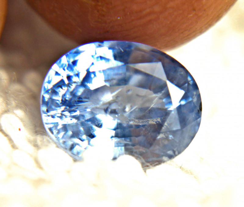 CERTIFIED - 3.99 Carat Heat Only Blue Sapphire