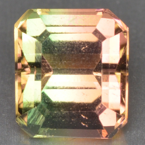 1.38 Cts Unheated Bi Color Natural Tourmaline Gemstone