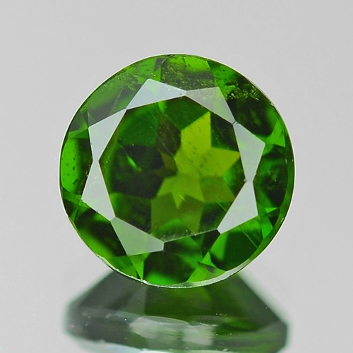 1.50 Cts Natural Green Color Chrome Diopside Loose Gemstone