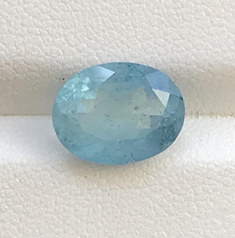 3.44 Carats Aquamarine Gemstone