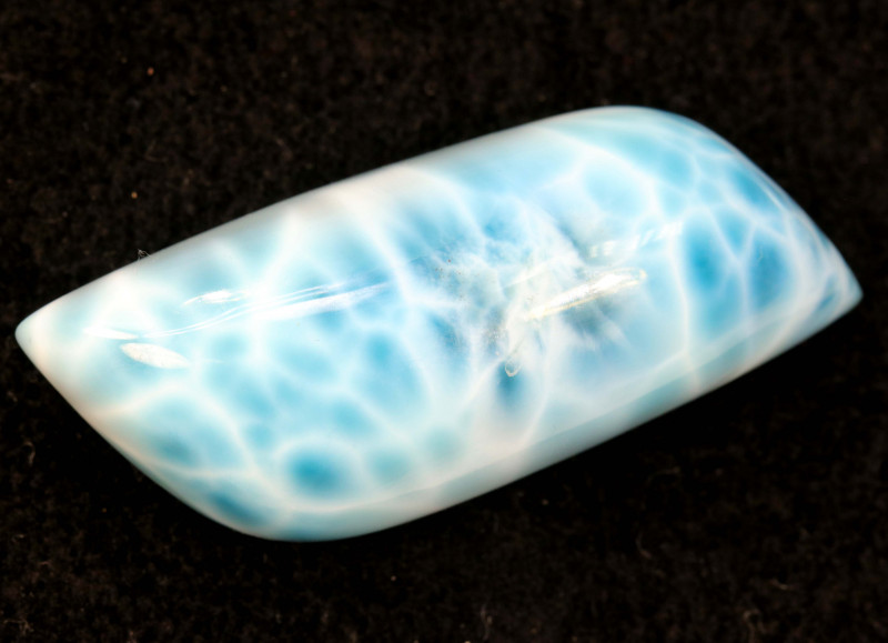 96.15cts-Larimar Polished Cabochon Stone -GB28