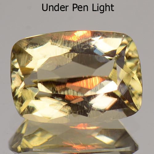 1.02 Cts Rare Color Changing Diaspore Natural Gemstone