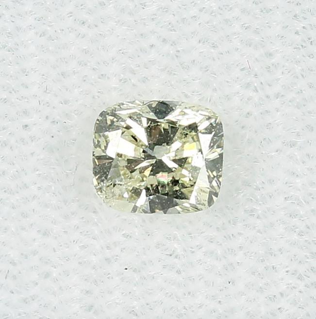 0.72ct Natural Light  Yellow Diamond GIA certified