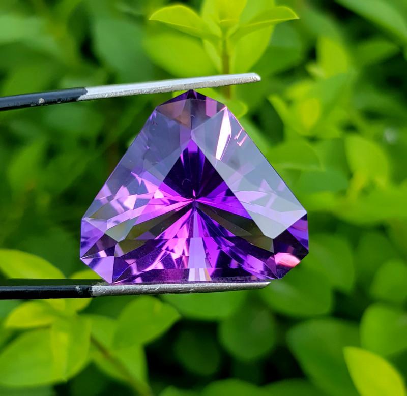 29.10 Carats Rich Color Fancy Amethyst Loose Gemstone