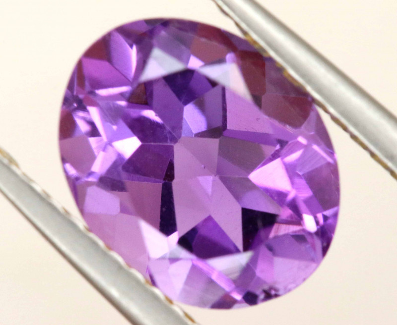 2.38 CTS AMETHYST FACETED STONE CG-3180