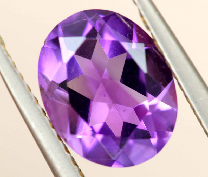 1.90 CTS AMETHYST FACETED STONE CG-3182