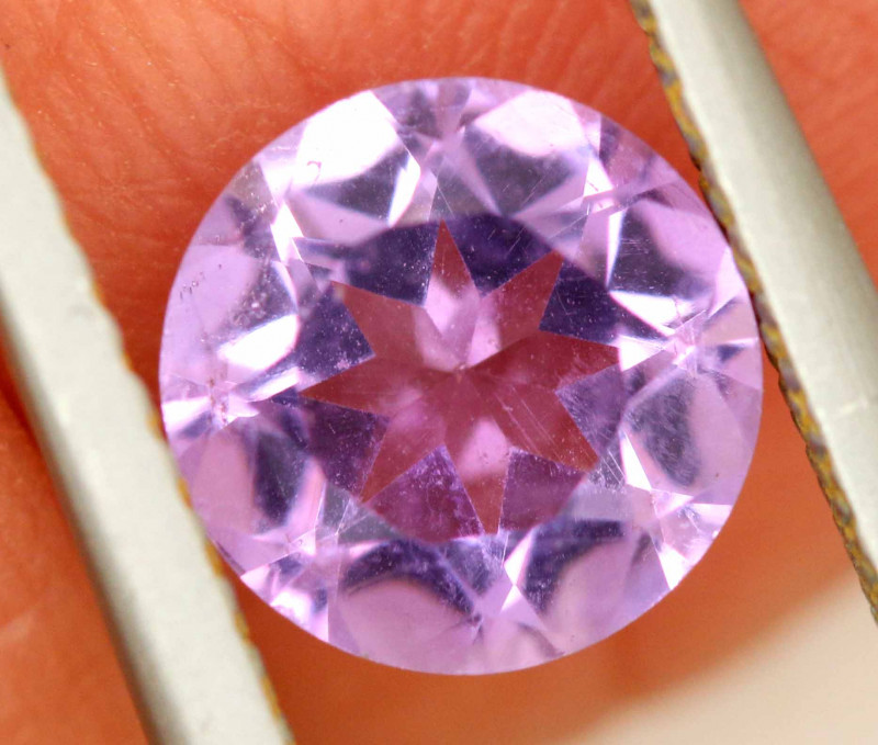 1.10 CTS AMETHYST FACETED STONE CG-3201