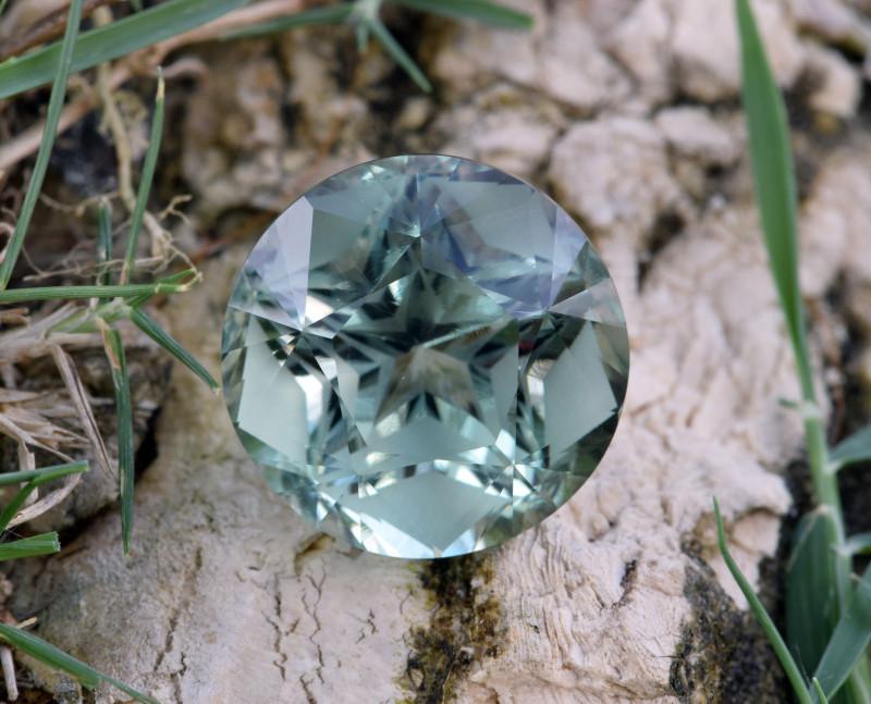 Natural Green Amethyst/Prasiolite 13.99 Cts Well Cut Gemstone