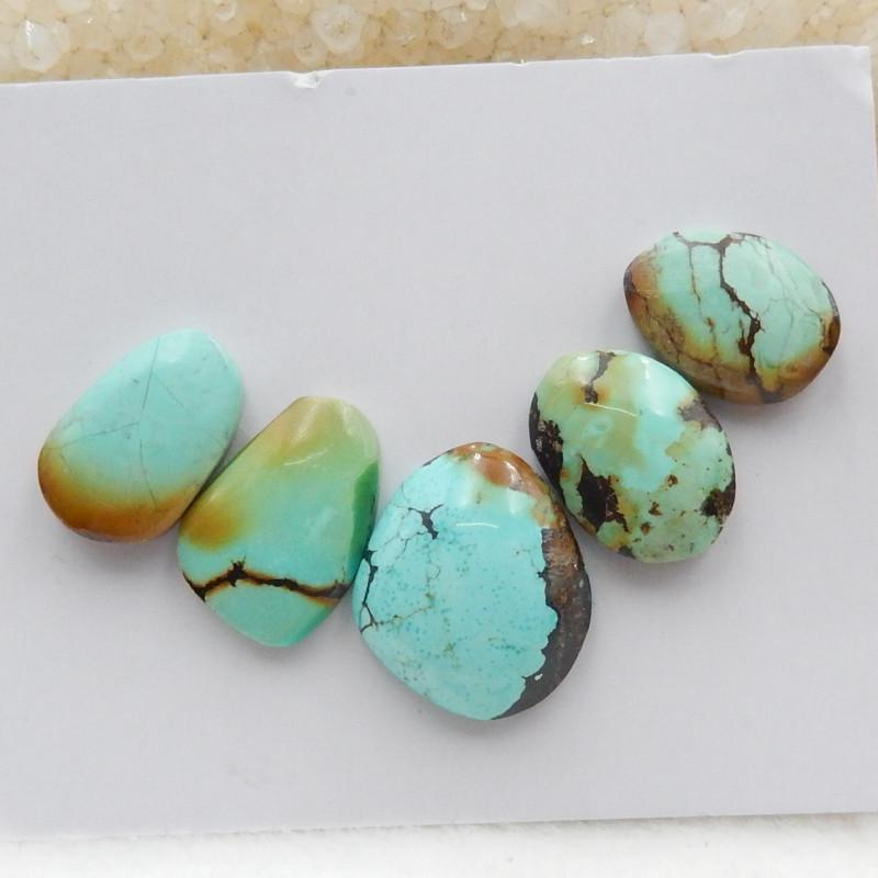 Turquoise Cabochons ,Handmade Gemstone ,Turquoise Cabochons ,Lucky Stone G5